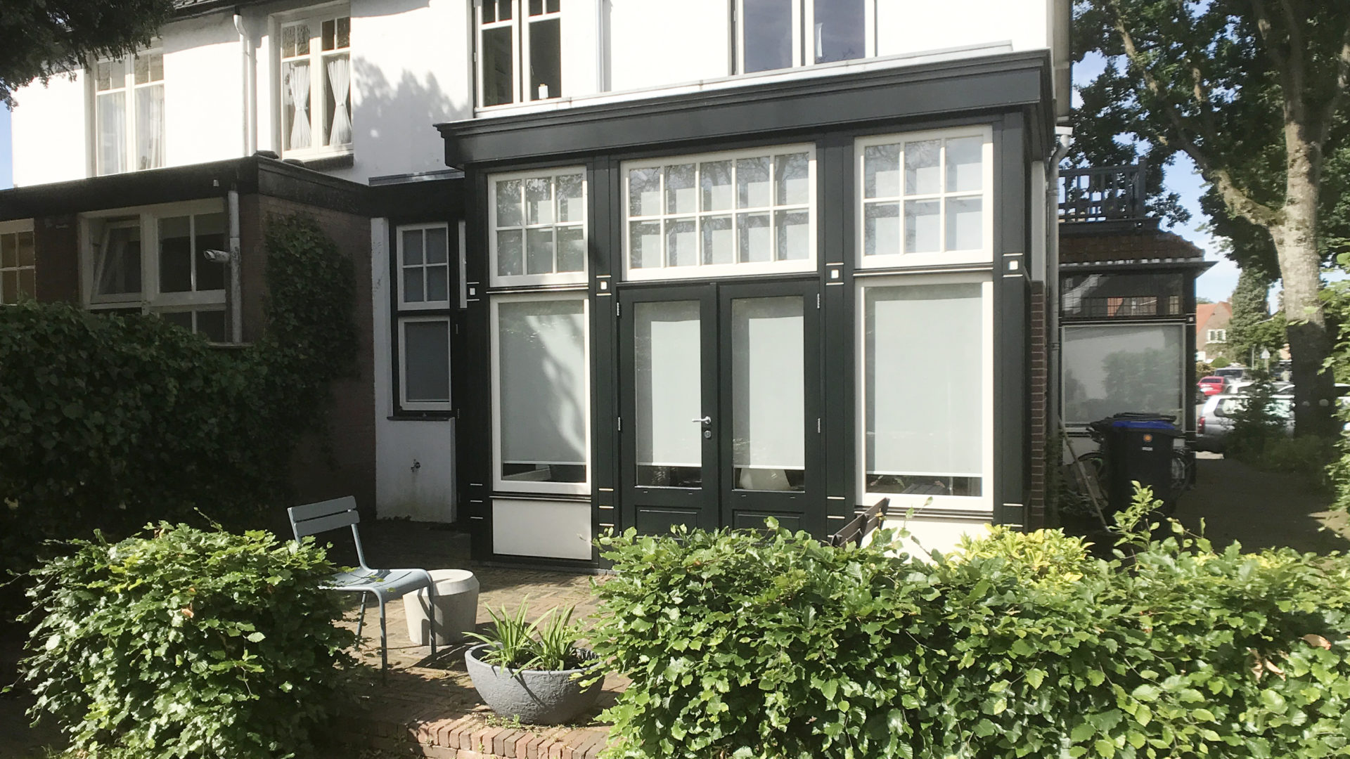 klassieke uitbouw in Hilversum door Engel Architecten