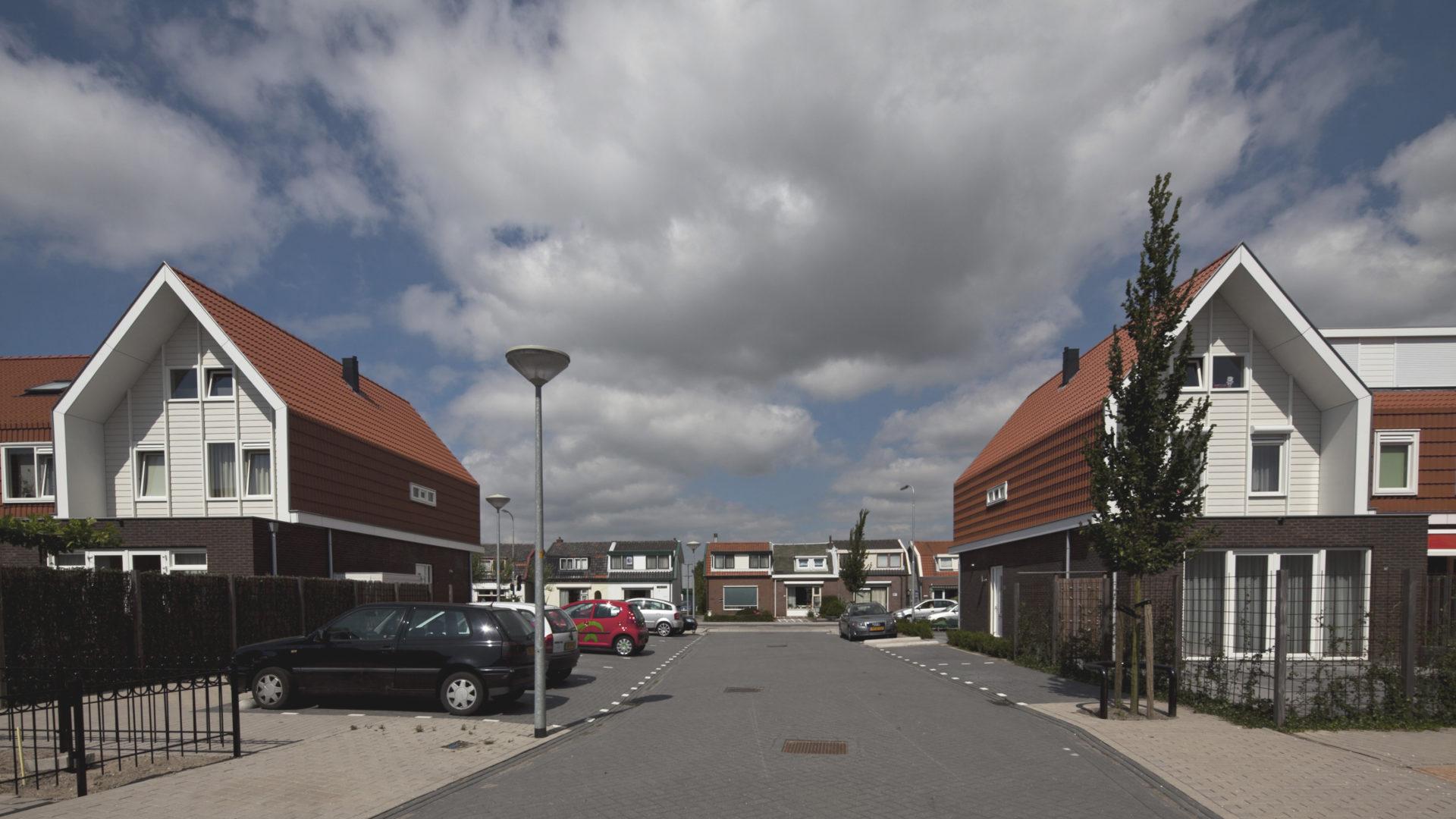 tussenstraat inbreilocatie Beinsdorp door Engel Architecten