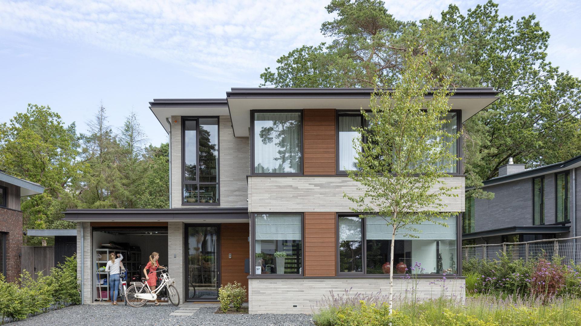 modern woonhuis Zeist door Engel Architecten