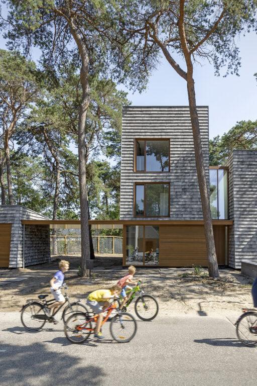 moderne villa door Engel Architecten