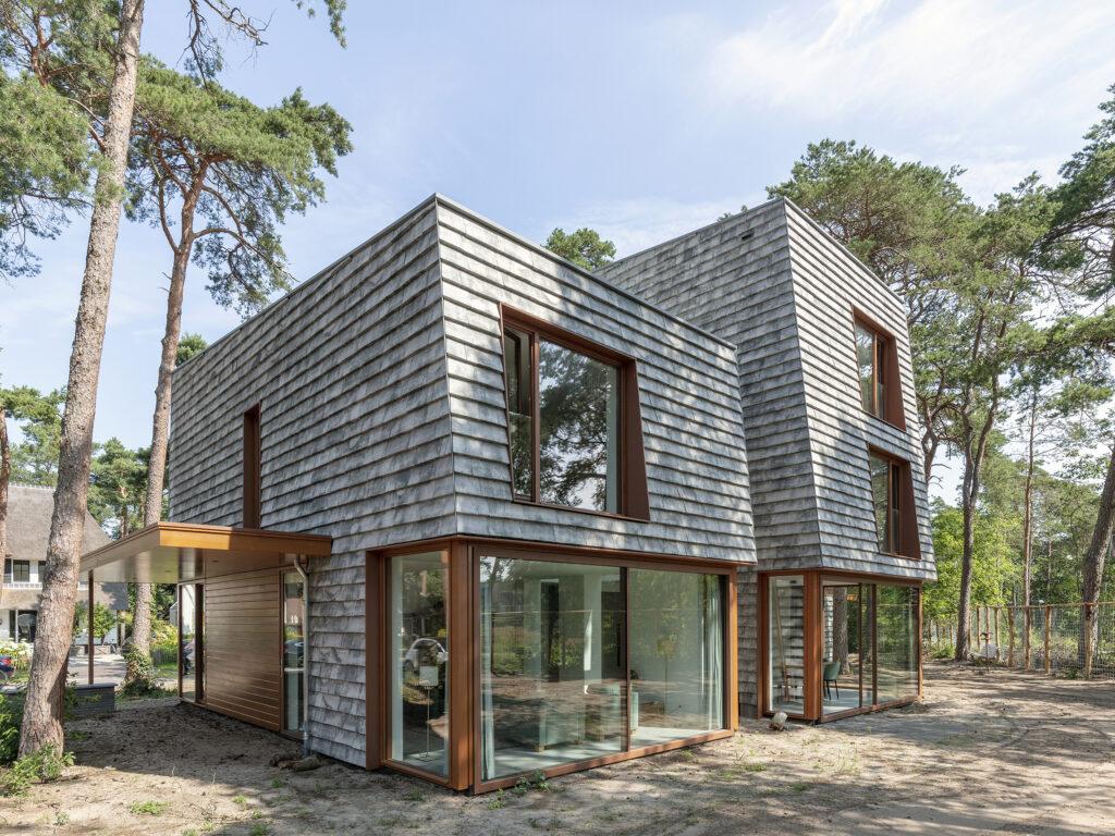 Moderne villa bouwen