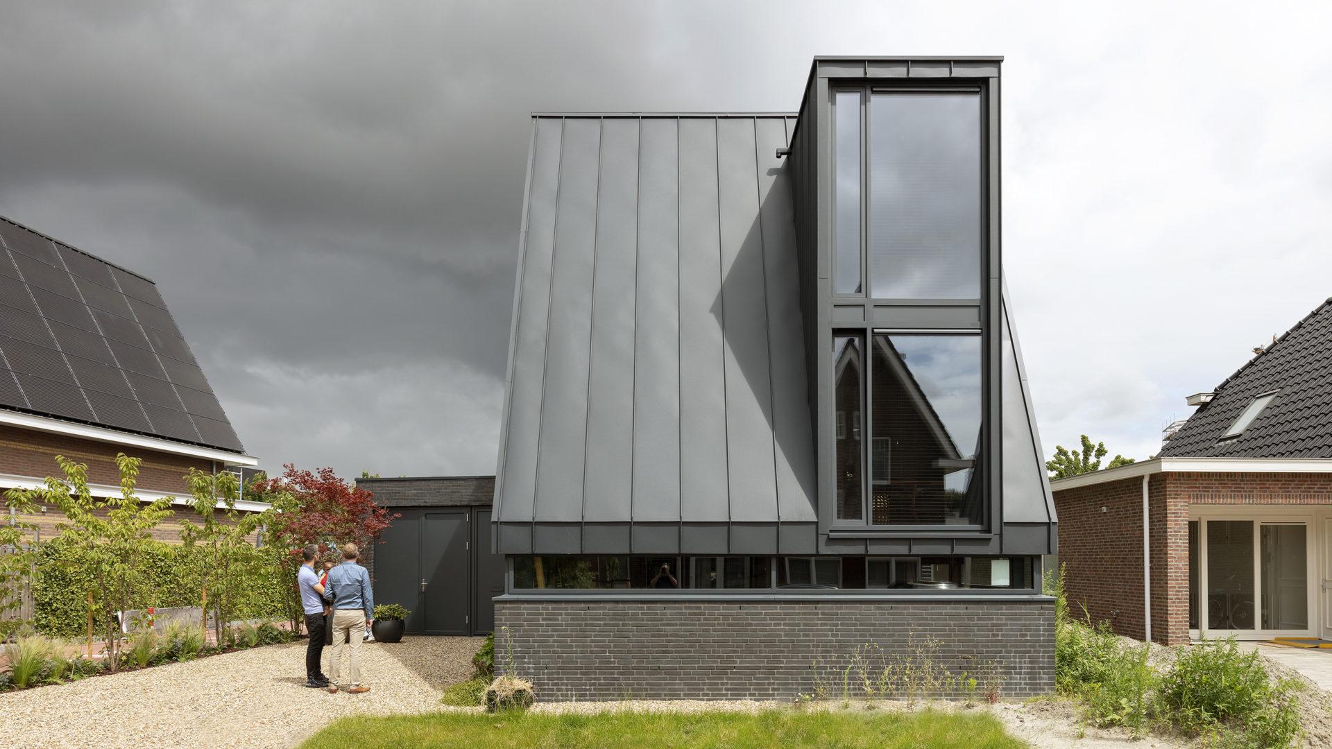 Moderne woning met in Amsterdam met een verrassend interieur