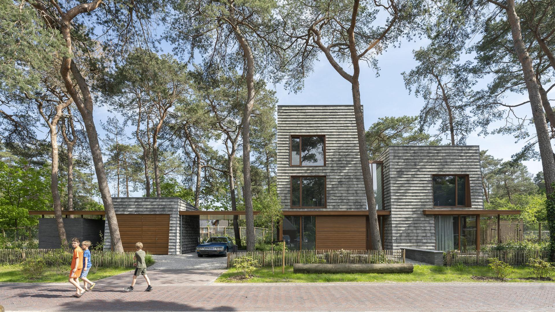 Modern woonhuis architectuur Petersen Covers