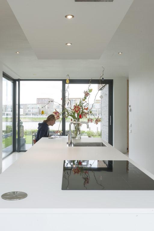 interieur van het moderne huis op IJburg