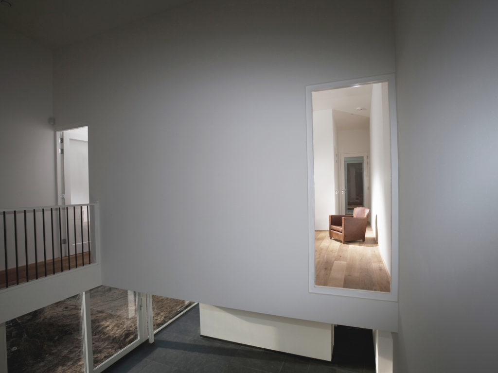 Interieur van het moderne woonhuis in Beinsdorp