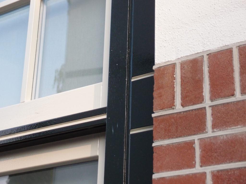 detail uitbouw woonhuis hilversum